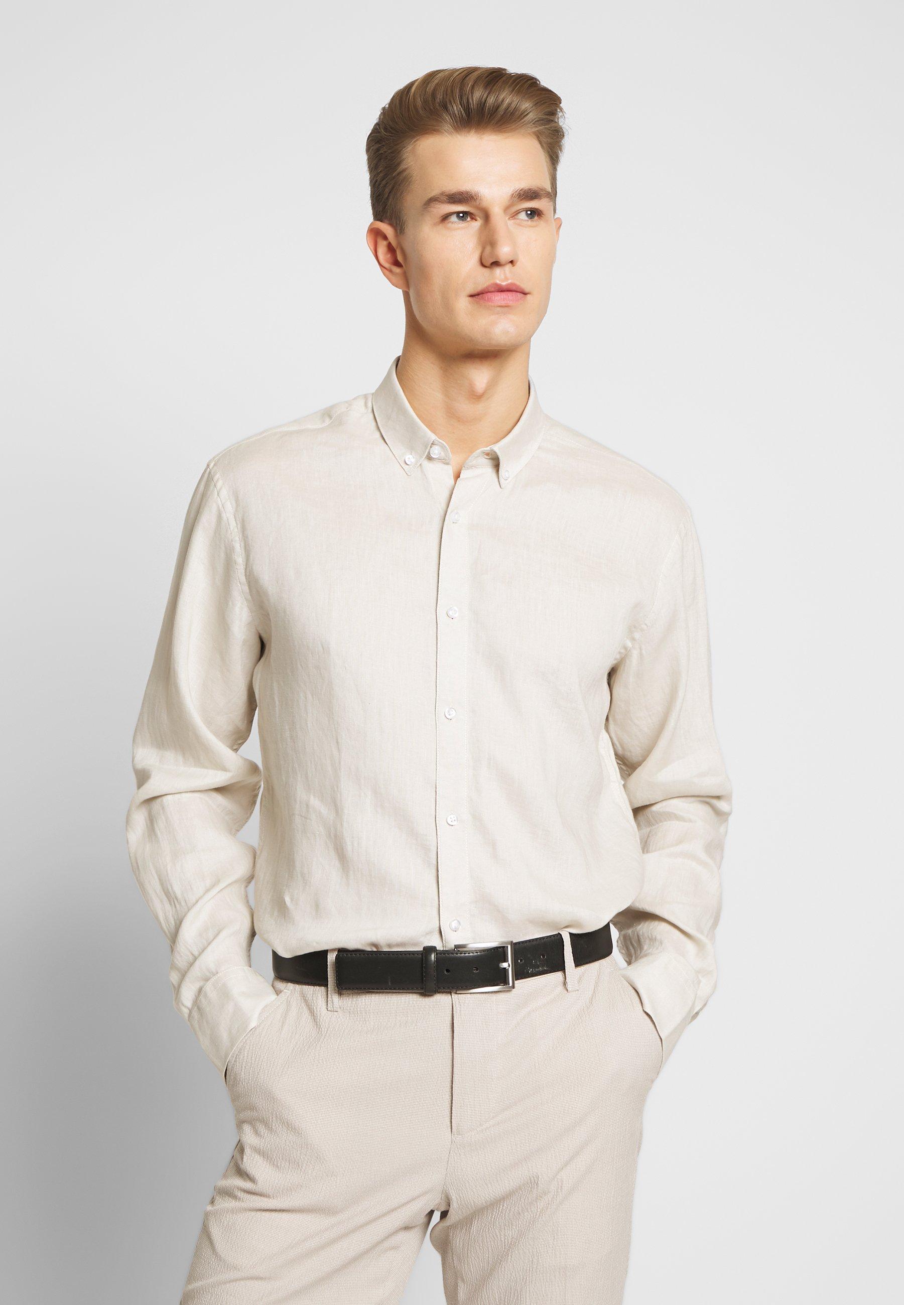 sand skjorta herr