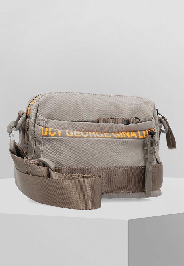 YMA  - Across body bag - brown