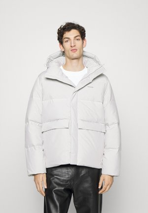 DOVRE JACKET - Down jacket - light grey