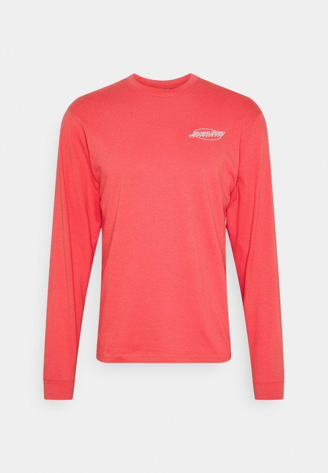 UNISEX SLASHER LONGSLEEVE - Long sleeved top - washed red