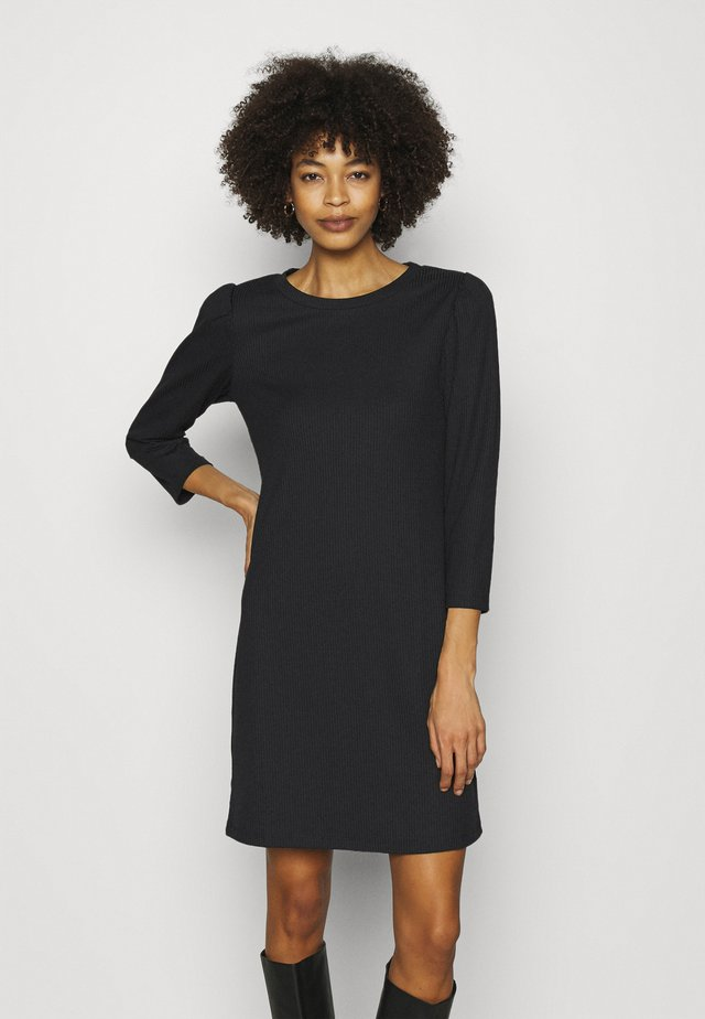DRESS - Sukienka dzianinowa - true black