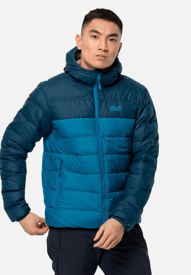 Down jacket - blue pacific