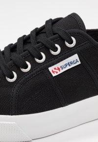 Superga - COTU - Joggesko - black/white - 2