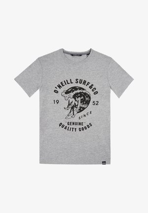 CONNOR - Print T-shirt - grey