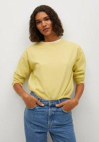 Mango - Jumper - pastel yellow - 0