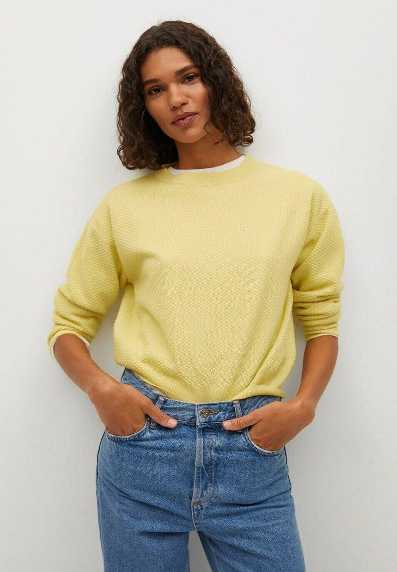 Mango - Jumper - pastel yellow