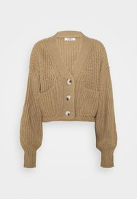4th & Reckless - HENRY - Cardigan - cream/camel - 0