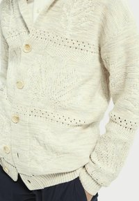 Scotch & Soda - JACQUARD  - Cardigan - sand melange - 4