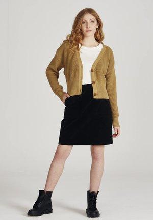 MEGAN - A-line skirt - black