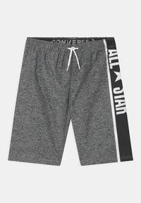 Converse - ALL STAR POOLSIDE  - Swimming shorts - dark grey heather - 0