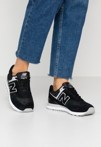 New Balance - WL574 - Sneakers basse - black/grey - 0