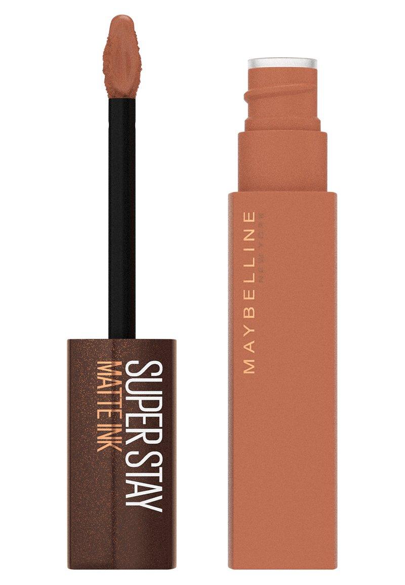 Maybelline New York - SUPER STAY MATTE INK - Liquid lipstick - 255 chai genius