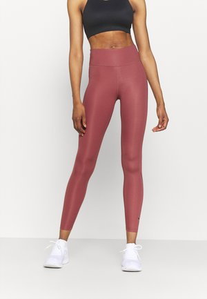 RUN - Leggings - canyon rust/silver