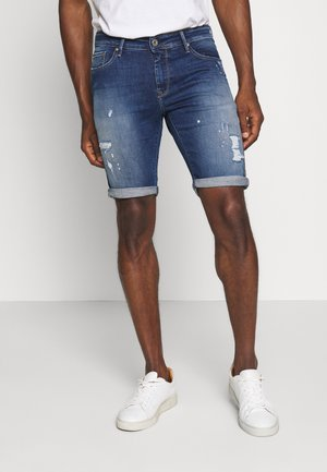TAMARIN - Denim shorts - dark blue