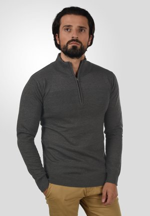 TROYER ERNO - Strickpullover - charcoal mix