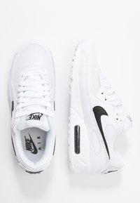 Nike Sportswear - AIR MAX 90 - Sneakers - white/black - 3