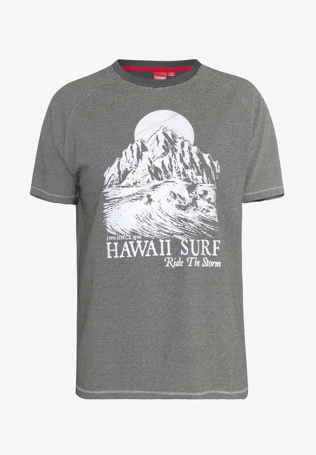 HAWAII - Print T-shirt - grey