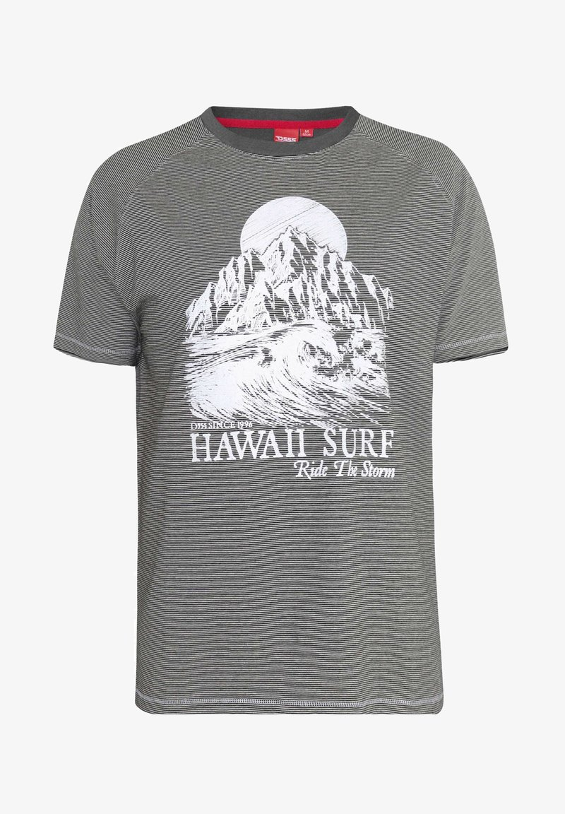 BadRhino - HAWAII - Print T-shirt - grey