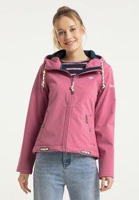 Schmuddelwedda - Outdoorová bunda - pink - 0