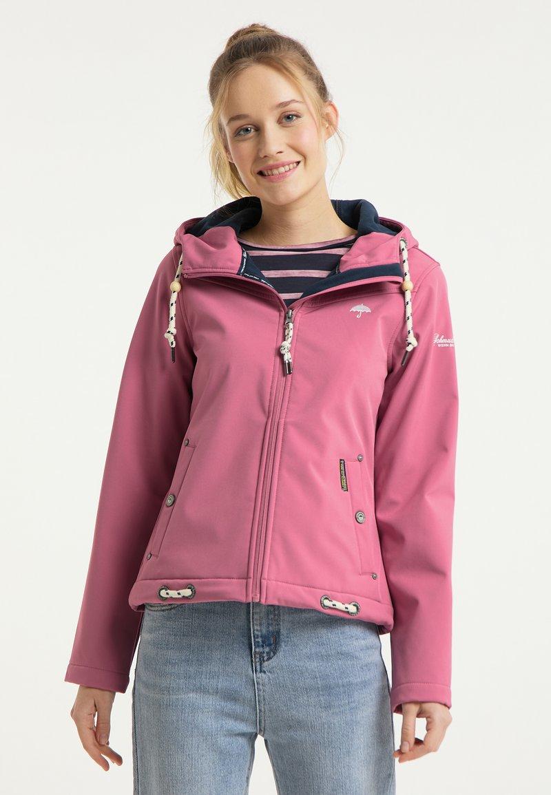 Schmuddelwedda - Outdoorová bunda - pink