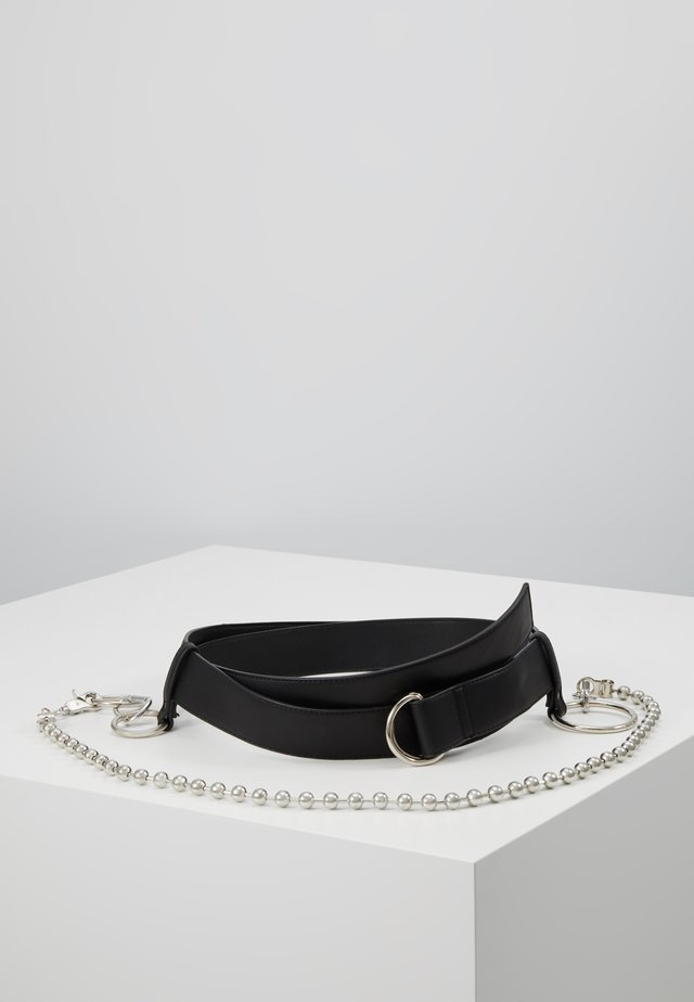 DROP CHAIN BE - Belt - black