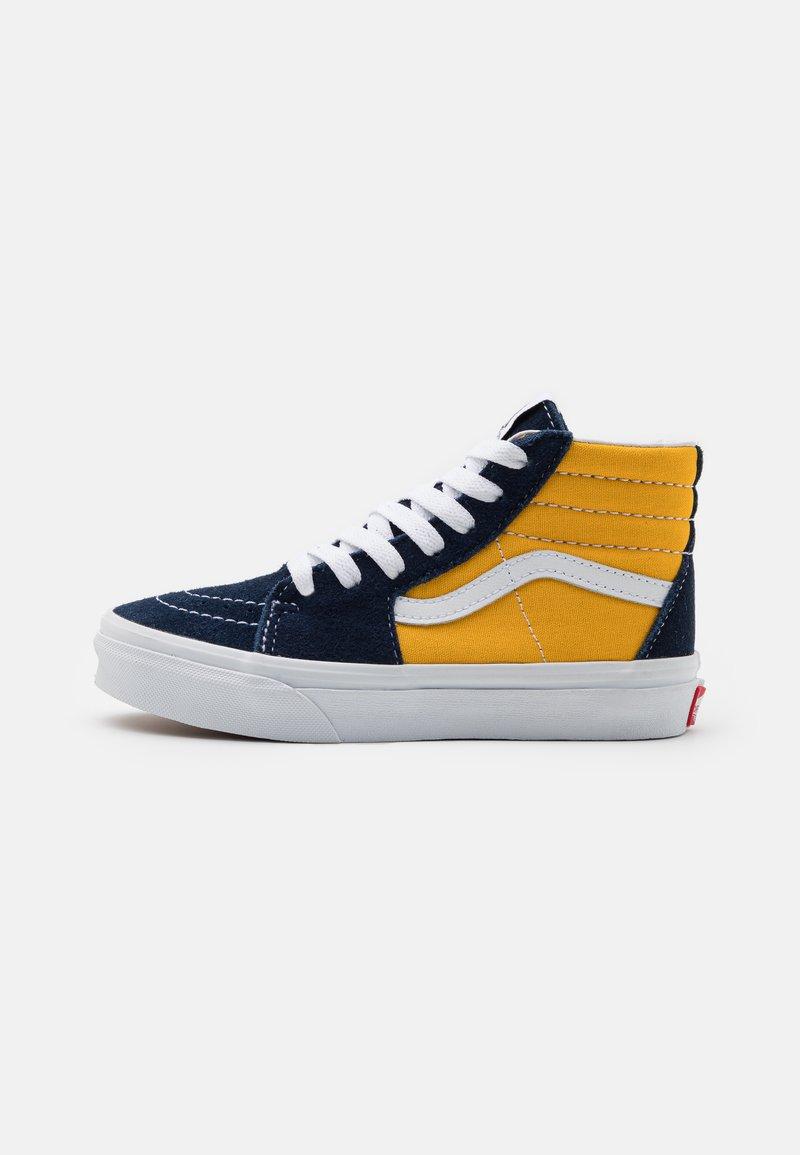 Vans - SK8 UNISEX - High-top trainers - dress blue/saffron