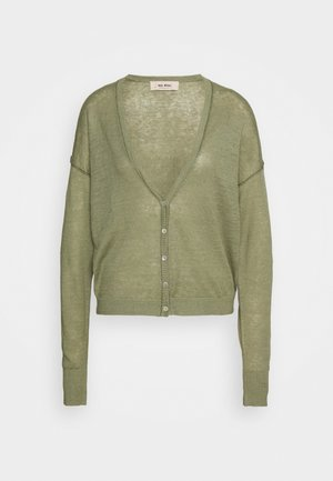 LARK CARDIGAN - Kardigan - oil green