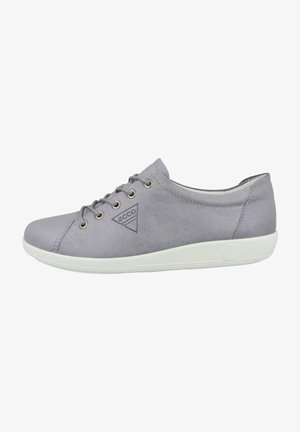 Casual lace-ups - silver grey