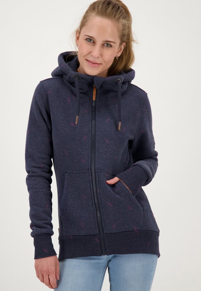 YASMIN - Zip-up hoodie - dark blue