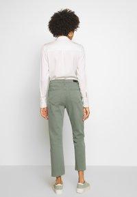 Aaiko - CEYDA - Straight leg jeans - steel green - 2