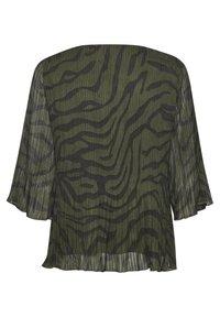 Denim Hunter - DHZITHA  - Blouse - black zebra print - 7