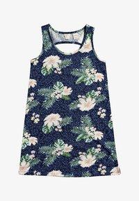 Roxy - Jersey dress - mood indigo animalia s - 0