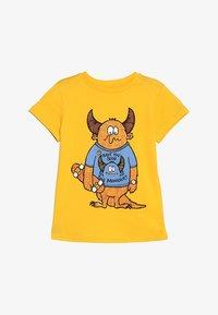 Friboo - SAD SKATEBOARD MONSTER - T-shirts print - citrus - 2