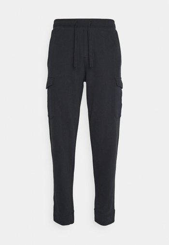 PANTS WITH POCKETS WAISTBAND WITH DRAWSTRING - Tracksuit bottoms - phantom fear