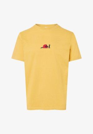 RANTANPLAN – SUNSET - Print T-shirt - yellow