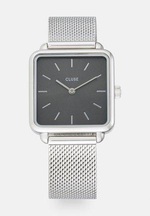 LA TÉTRAGONE - Klokke - silver colour