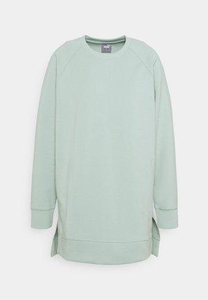 EXHALE OVERSIZED COVERUP - Sweatshirt - frosty green