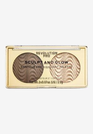 SCULPT AND GLOW SAVANNA NIGHTS - Face palette - -