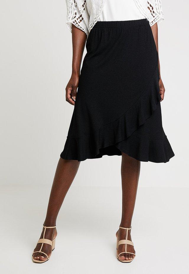 SAPHIRA SKIRT - Zavinovací sukně - black