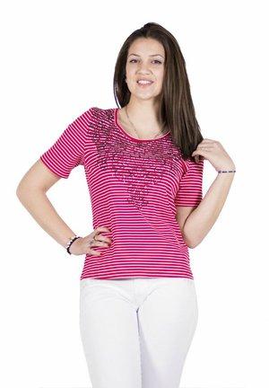Camiseta estampada - rojo