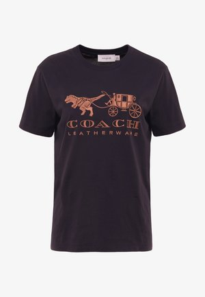 REXY AND CARRIAGE - T-Shirt print - black