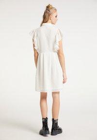 myMo ROCKS - Shirt dress - weiss - 2