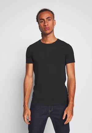 DELETION LIST - Jednoduché triko - black
