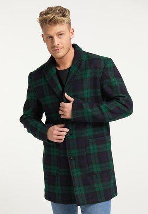 Short coat - marine grün