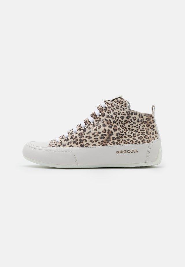 MID - Sneakersy wysokie - natur/bianco