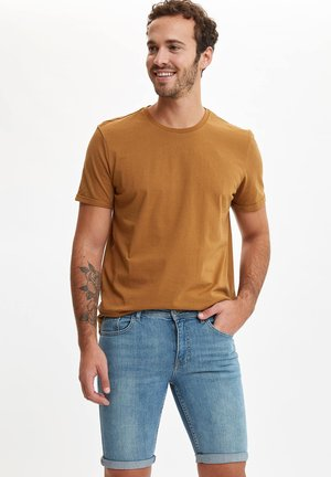 Jeansshort - brown