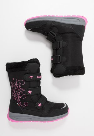 K-STAR BOOT RTX - Winter boots - jet black/daisy pink