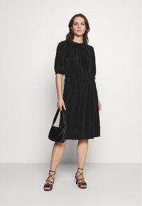InWear - KARLO DRESS - Vestito estivo - black - 1