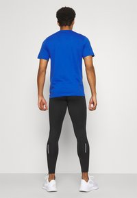 Nike Performance - Tights - black/reflective silver - 2
