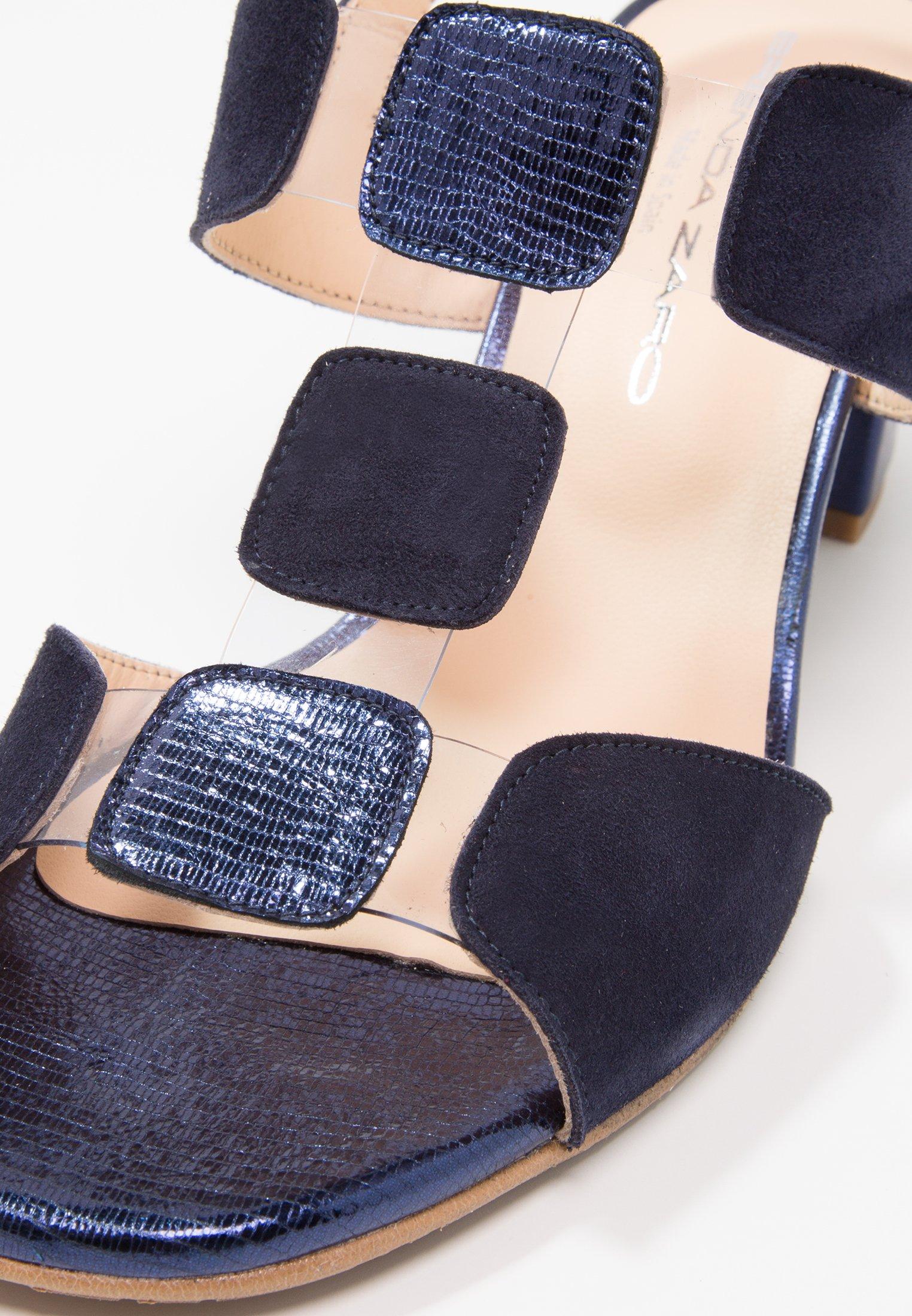 Brenda Zaro POLAR NEW - Sandales - blue/vinilo